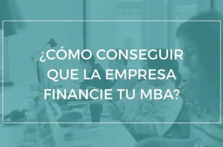 Formación en la empresa - pago MBA